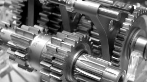 Mechanical engineering - gearbox